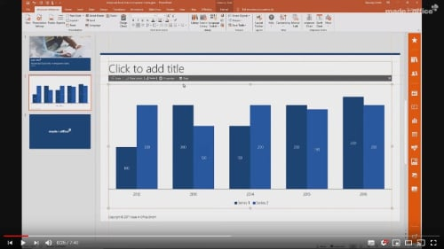 excel links empower slides