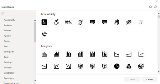 icon library powerpoint