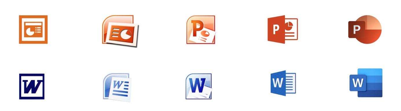 Microsoft PPT und Word Rebranding