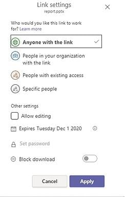 SharePoint Anyone with Link