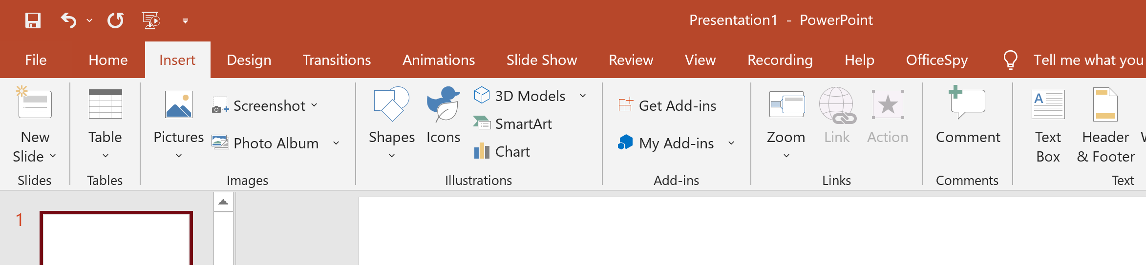 Insert and edit PowerPoint footers