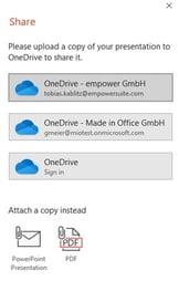 OneDrive Remote Work