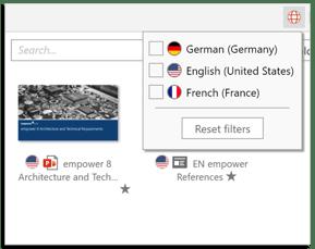 slides Sprachfilter