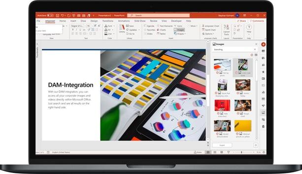 DAM Integration macOS PowerPoint CD