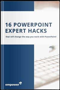 16 PoerPoint Expert Hacks