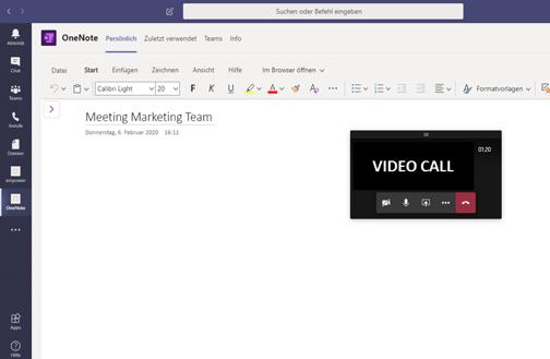 Onenote Microsoft Teams App