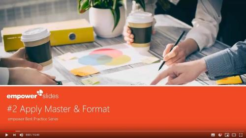 master format empower slides