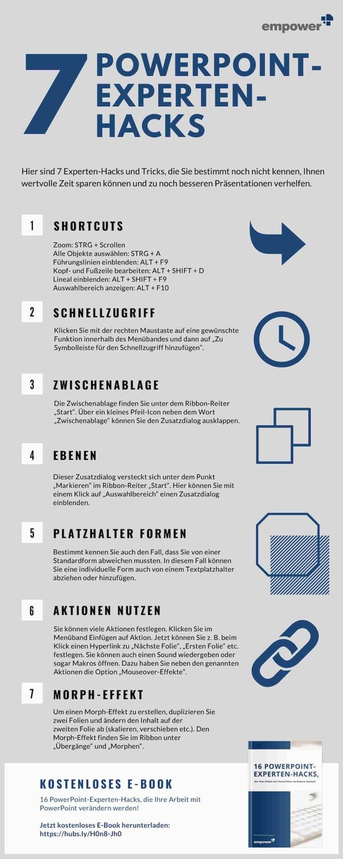 7 PowerPoint-Experten-Hacks