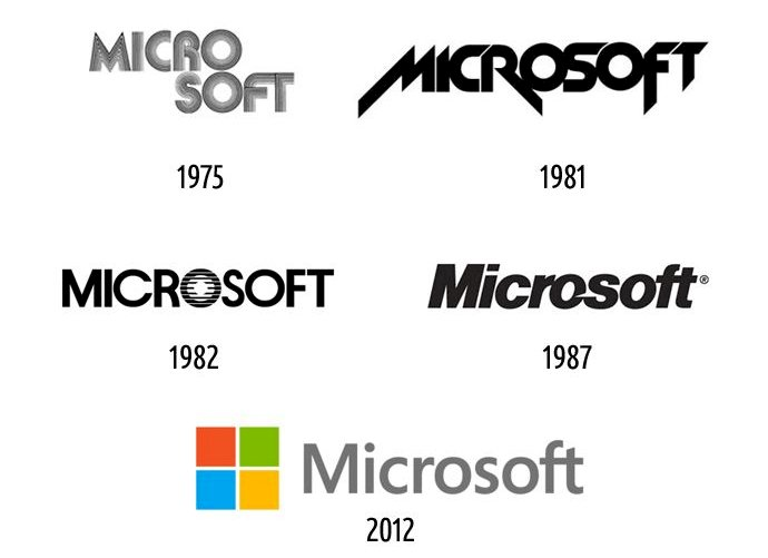 Microsoft Logo Change