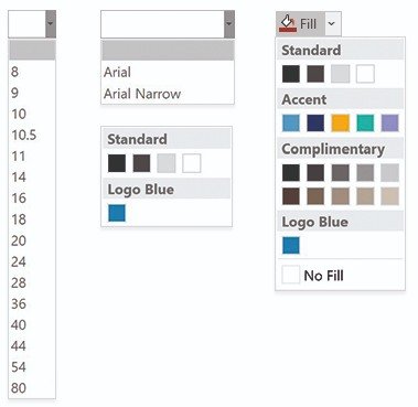 format picker sheets