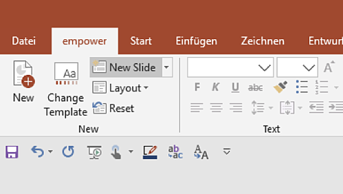 made in office is now empower