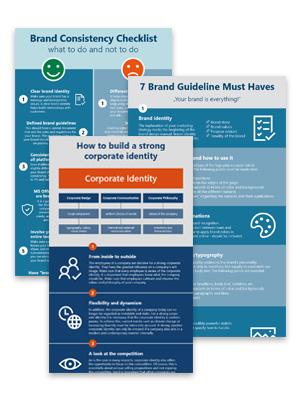 Infographic brand communication